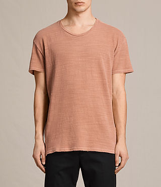 Herren Tyed T-Shirt (CLAY RED) -