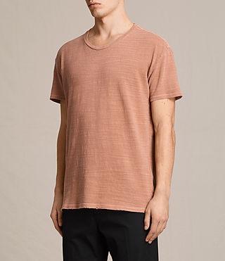 Hommes T-shirt Tyed (CLAY RED) - product_image_alt_text_2