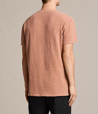 Hommes T-shirt Tyed (CLAY RED) - product_image_alt_text_4