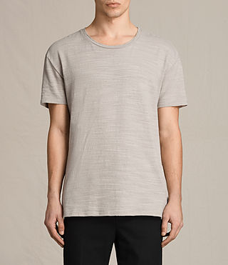 Men's Tyed Crew T-Shirt (ALMOND GREY)
