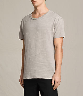 Mens Tyed Crew T-Shirt (ALMOND GREY) - product_image_alt_text_3