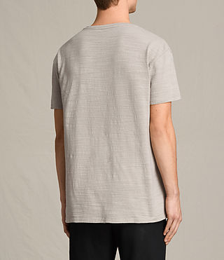 Mens Tyed Crew T-Shirt (ALMOND GREY) - product_image_alt_text_4