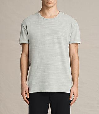 Mens Tyed Crew T-Shirt (STONE GREEN)