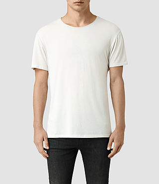 Herren Galaxy Crew T-Shirt (Powder White)