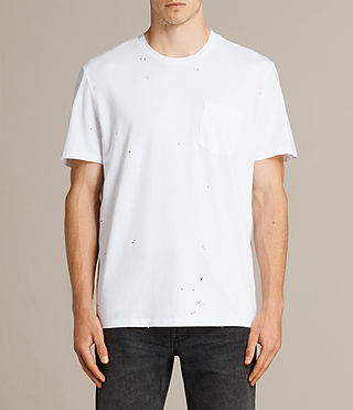 Hommes T-shirt Torr Crew (Optic White) -