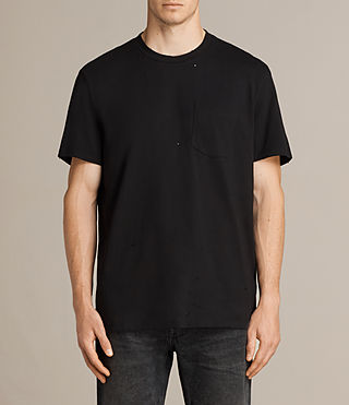 Men's Torr Crew T-Shirt (Jet Black) -