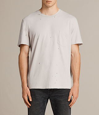 Men's Torr Crew T-Shirt (Pebble) - product_image_alt_text_1