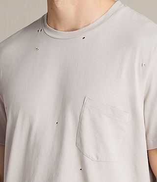 Men's Torr Crew T-Shirt (Pebble) - product_image_alt_text_2