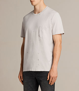 Mens Torr Crew T-Shirt (Pebble) - product_image_alt_text_3