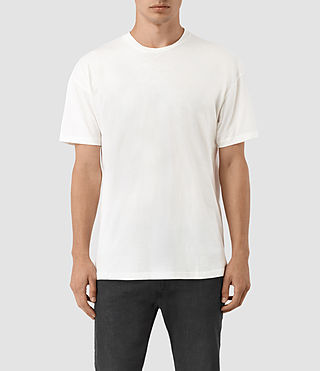 Mens Jovian Crew T-Shirt (Chalk White) - product_image_alt_text_1