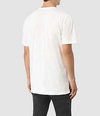Hommes Jovian Crew T-Shirt (Chalk White) - product_image_alt_text_3