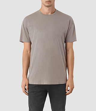 Herren Jovian Crew T-Shirt (Putty Brown) -