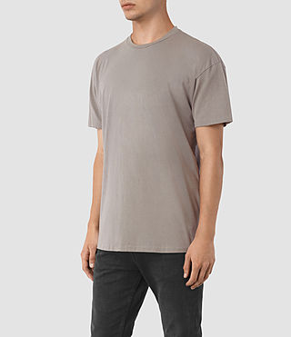 Mens Jovian Crew T-Shirt (Putty Brown) - product_image_alt_text_2