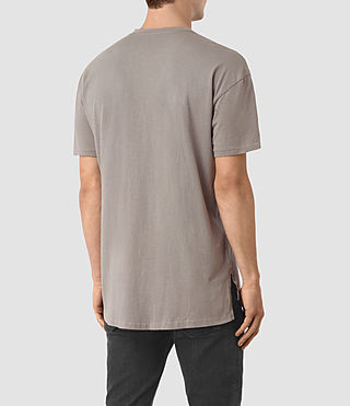 Mens Jovian Crew T-Shirt (Putty Brown) - product_image_alt_text_3