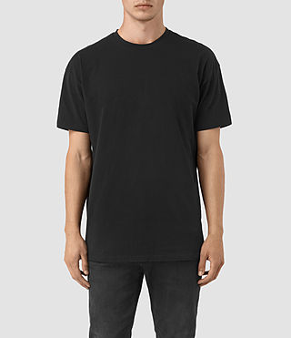 Mens Jovian Crew T-Shirt (Vintage Black) - product_image_alt_text_1