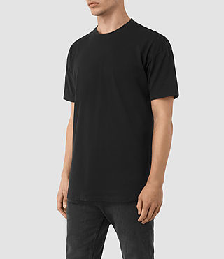 Mens Jovian Crew T-Shirt (Vintage Black) - product_image_alt_text_2
