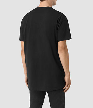 Mens Jovian Crew T-Shirt (Vintage Black) - product_image_alt_text_3