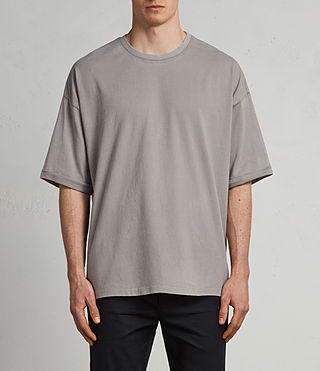 Men's Kleve Crew T-Shirt (Putty Brown) - Image 1