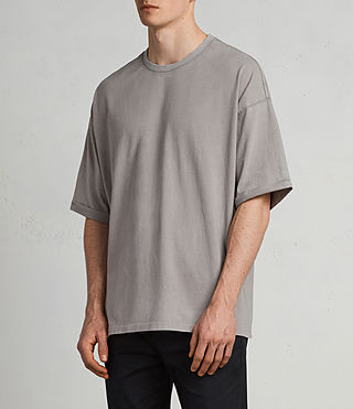 Men's Kleve Crew T-Shirt (Putty Brown) - Image 2
