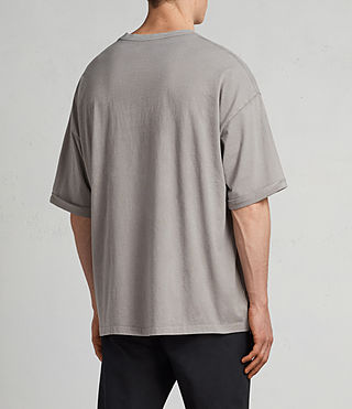 Men's Kleve Crew T-Shirt (Putty Brown) - Image 3