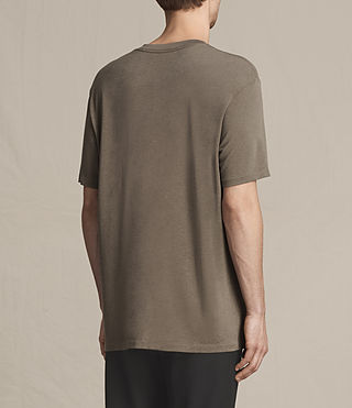 Herren Mars Crew T-Shirt (Washed Khaki) - product_image_alt_text_3