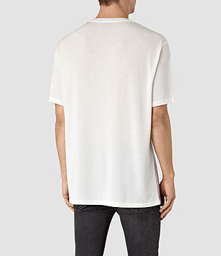 Mens Mars Crew T-Shirt (Chalk White) - product_image_alt_text_3