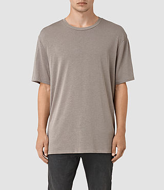 Hommes Mars Crew T-Shirt (Putty Brown)