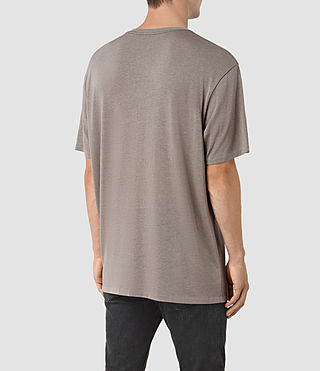 Mens Mars Crew T-Shirt (Putty Brown) - product_image_alt_text_3