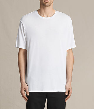 Mens Mars Crew T-Shirt (Optic White)