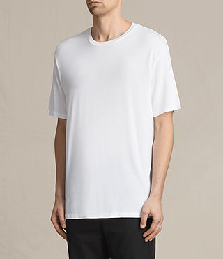 Men's Mars Crew T-Shirt (Optic White) - product_image_alt_text_2
