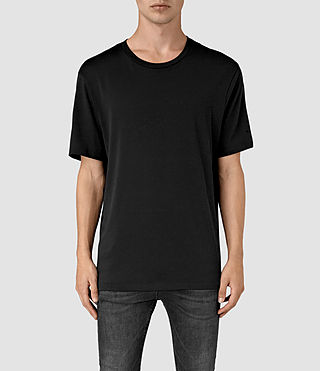Mens Mars Crew T-Shirt (Black) - product_image_alt_text_1