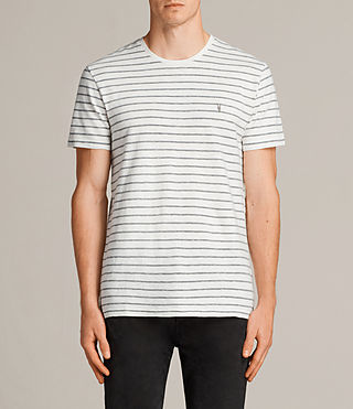 Men's Paver Tonic Crew T-Shirt (Chalk White) - Image 1