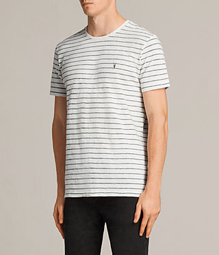 Men's Paver Tonic Crew T-Shirt (Chalk White) - Image 3