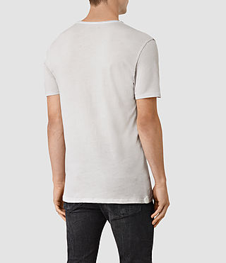 Men's Figure Crew T-Shirt (Ash Grey) - product_image_alt_text_3