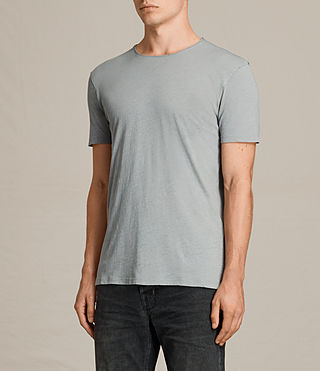 Men's Figure Crew T-Shirt (Storm Blue) - product_image_alt_text_3
