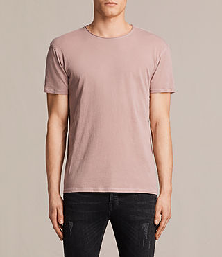 Men's Figure Crew T-Shirt (Dusk Pink) -
