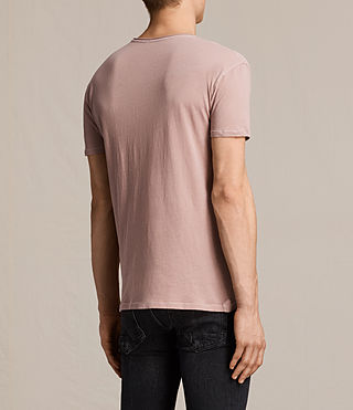 Men's Figure Crew T-Shirt (Dusk Pink) - product_image_alt_text_3