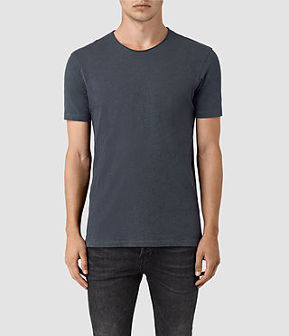 Mens Figure Crew T-Shirt (Workers Blue) - product_image_alt_text_1