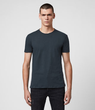 Mens Figure Crew T-Shirt (INK NAVY)