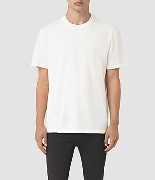 Hommes Jupiter Crew T-Shirt (Chalk White) -