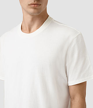 Men's Jupiter Crew T-Shirt (Chalk White) - product_image_alt_text_2