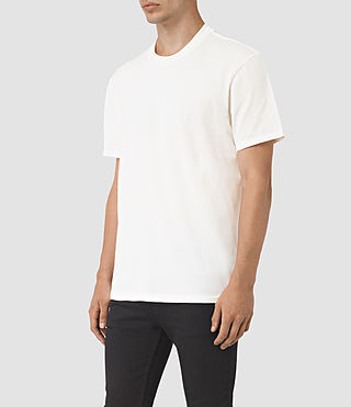 Men's Jupiter Crew T-Shirt (Chalk White) - product_image_alt_text_3