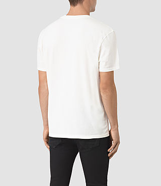 Herren Jupiter Crew T-Shirt (Chalk White) - product_image_alt_text_4