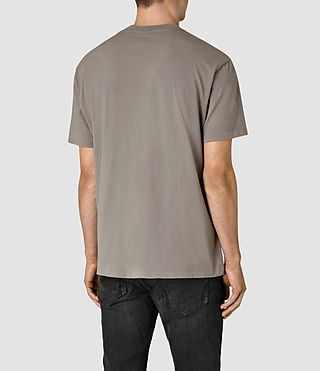 Mens Jupiter Crew T-Shirt (Putty Brown) - product_image_alt_text_3