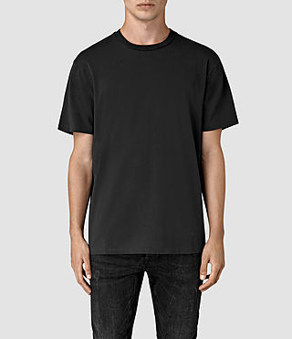 Mens Jupiter Crew T-Shirt (Vintage Black) - product_image_alt_text_1