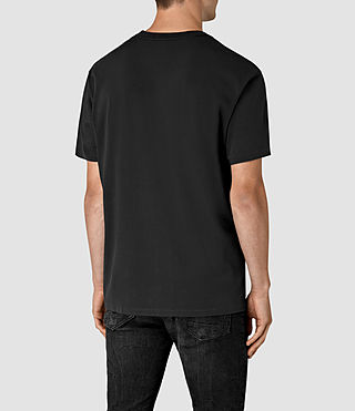 Mens Jupiter Crew T-Shirt (Vintage Black) - product_image_alt_text_3