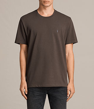 Hommes T-Shirt Morten (Khaki Brown) - Image 1