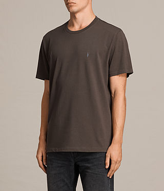 Herren Morten Crew T-Shirt (Khaki Brown) - Image 3