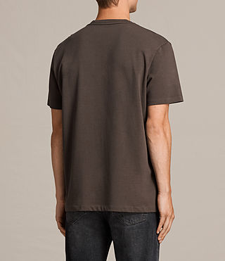 Herren Morten Crew T-Shirt (Khaki Brown) - Image 4