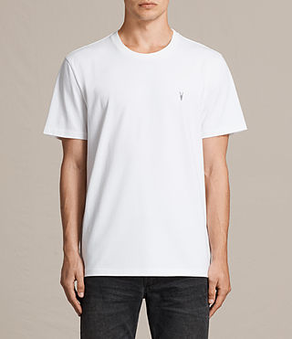 Mens Morten Crew T-Shirt (Optic White) - Image 1